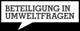 Beteiligung in Umweltfragen - Logo